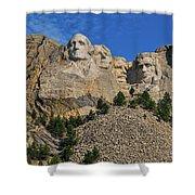 Mount Rushmore-2 Shower Curtain