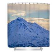 Mt. Shasta Snow Drifts Shower Curtain