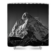 Mt Shivling Above Tapovan Shower Curtain