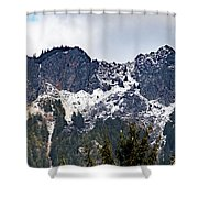 Mt. Si South View Shower Curtain