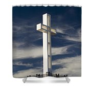 Mt. Soledad Veterans Memorial Shower Curtain