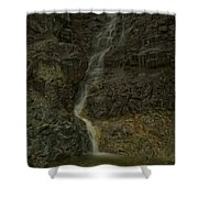 Mt St Benidict Waterfall Shower Curtain