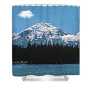 Mt. St. Helens 1975 Shower Curtain