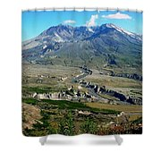 Mt. St. Helens 2005 Shower Curtain