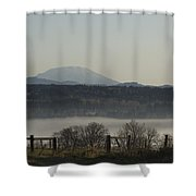 Mt St Helens Shower Curtain