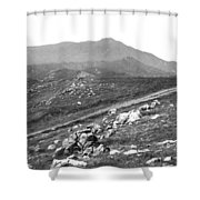 Mt Tam From The Tiburon Hills 1975 Shower Curtain