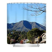 Mt Tamalpais View From Mill Valley Shower Curtain