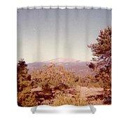 Mt Taylor  Shower Curtain