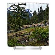 Mt. Trails Shower Curtain