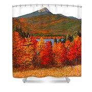 Mt.chocorua Shower Curtain by Jack Skinner