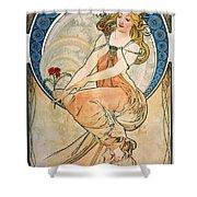 Mucha: Poster, 1898 Shower Curtain