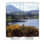 Muckish ,irish Landscape  Shower Curtain