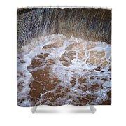 Muddy Waterfall Shower Curtain