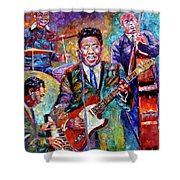Muddy Waters And His Band Shower Curtain