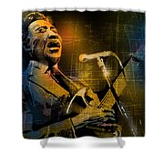Muddy Waters Shower Curtain