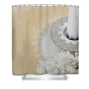 Muffin Shower Curtain
