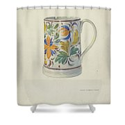Mug Shower Curtain