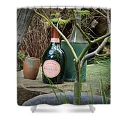 Mug Of Champagne Shower Curtain
