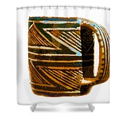 Mug Of The Anasazi Shower Curtain