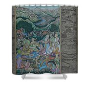 Mughal Art Gallery Shower Curtain