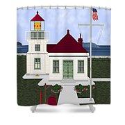Mukilteo Light Shower Curtain