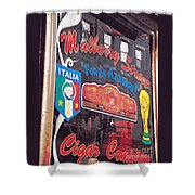 Mulberry Street Cigar Company Shower Curtain