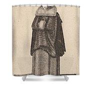 Mulier Generosa Viennensis Austri Shower Curtain