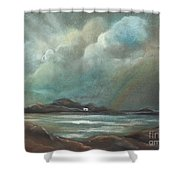 Mull From Iona Shower Curtain