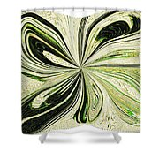 Multi-color Butterfly Pillow Shower Curtain