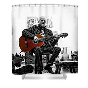 Multi-talented Artist Shower Curtain