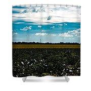 Multi-tasking Farm Shower Curtain