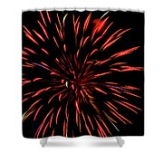 Multicolored Fireworks 2 Shower Curtain