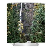 Multnomah Falls - 5 Shower Curtain