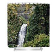 Multnomah Falls 3 Shower Curtain