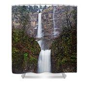 Multnomah Falls 3 Shower Curtain