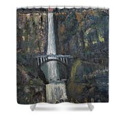 Multnomah Falls, Oregon Shower Curtain