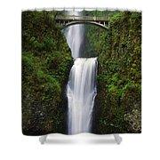 Multnomah Falls, Oregon, Usa Shower Curtain