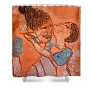Mum 5 - Tile Shower Curtain