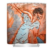 Mum 7 - Tile Shower Curtain