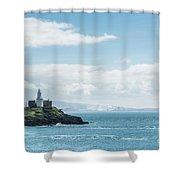 Mumbles Lighthouse 2 Shower Curtain
