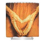 Mummies Love Halloween Shower Curtain