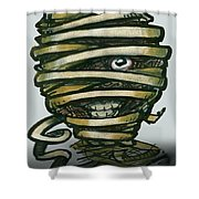 Mummy  Shower Curtain