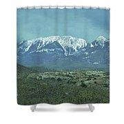 Mummy Mountain Shower Curtain