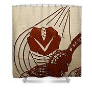 Mums Sweetheart - Tile Shower Curtain