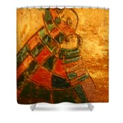 Mums Warmth - Tile Shower Curtain