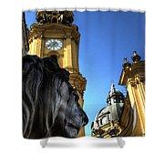 Munchen Lion  Shower Curtain