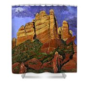 Munds Mountain Shower Curtain