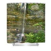 Munising Waterfall Shower Curtain