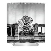 Muny Columns Shower Curtain