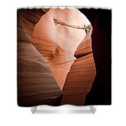 Mupltiple Openings Shower Curtain